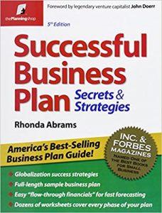 Successful Business Plan Secrets & Strategies MyMoneyBooks