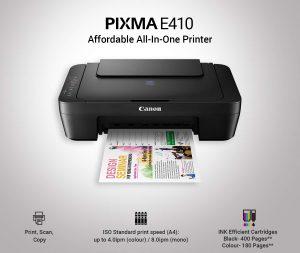 Canon Pixma E410 HP best printer under 5000